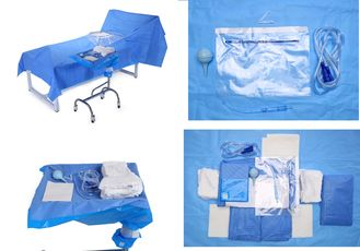 China Operating Room Sterile Blue Sterile Drape Sheets for Baby Bith Surgery supplier