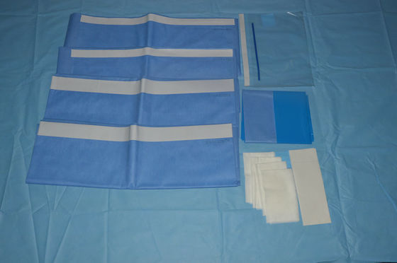 China EO Sterile Hospital Custom Procedure Packs with CE / ISO13485 Approved supplier