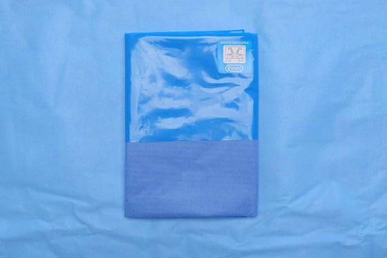 China Hospital Clinic  Sterile Blue Mayo Stand Cover Drape , Sterile Drape Sheets supplier