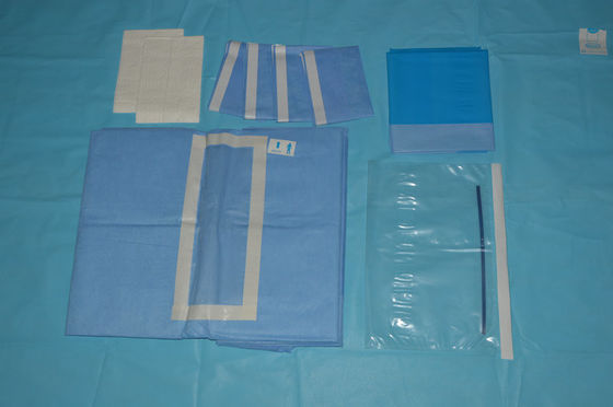 China Anti Static EO Sterile Laparotomy Pack for Hospital Abdorminal Surgery supplier
