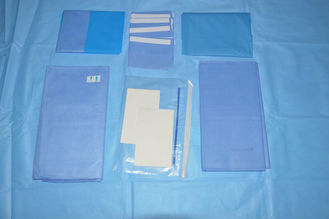 China CE Nonwoven EO Sterile Fenestrated Drape Hospital Sterile Drape Sheets supplier