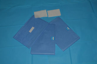China Against Blood Blue Non Woven Surgical Drape Medical For Clinic , Dentists supplier