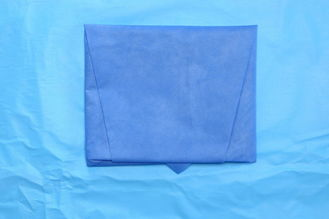 China Disposable Anti Static Non Woven Fabric Half Drape Sheet Sterile supplier