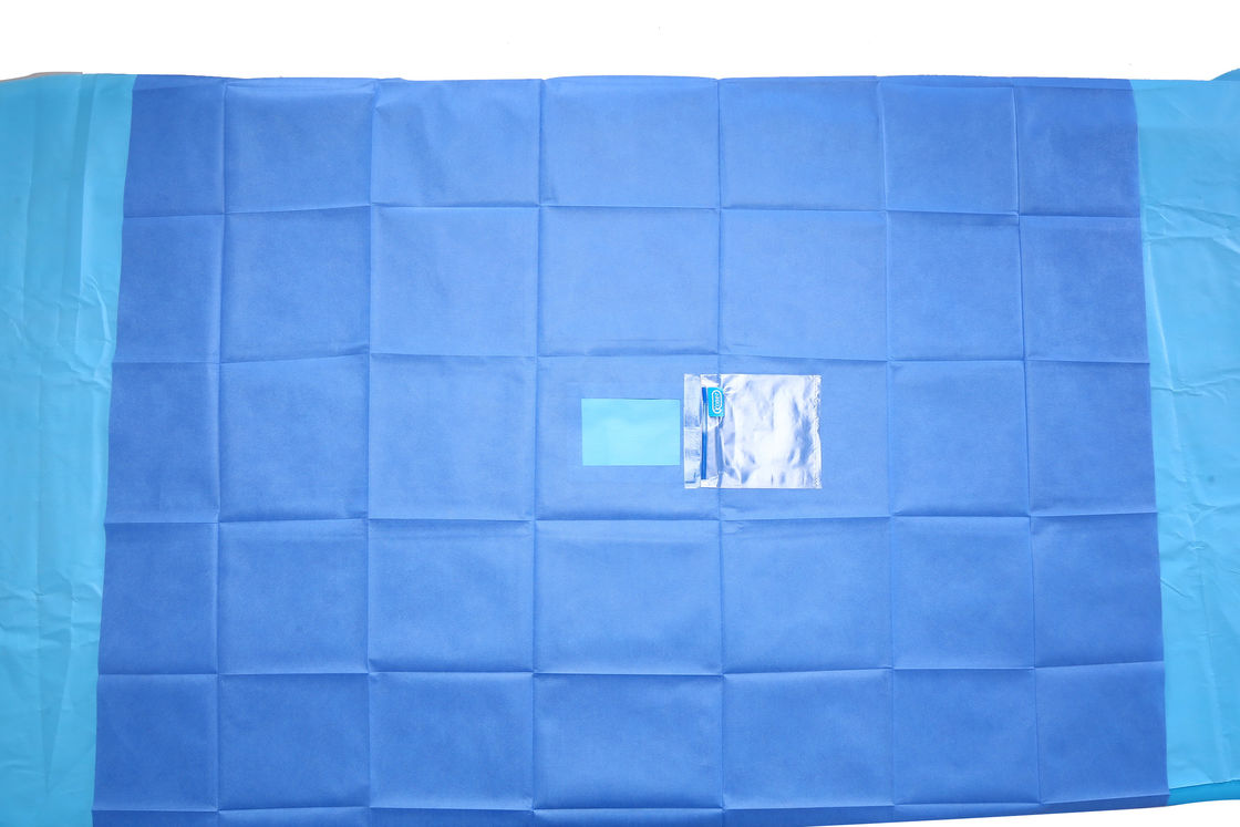Eye Surgery SMMS Sterile Fenestrated Drape Surgical Drape Material