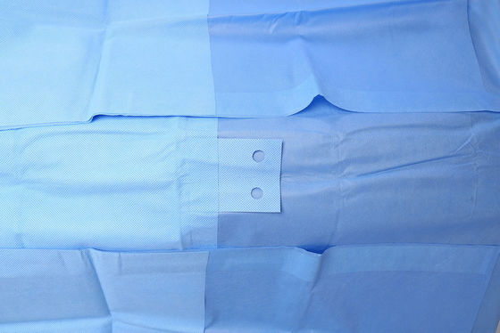 China EO Gas Sterile Disposable SMMS Surgical EENT Pack Operating Room Drapes distributor