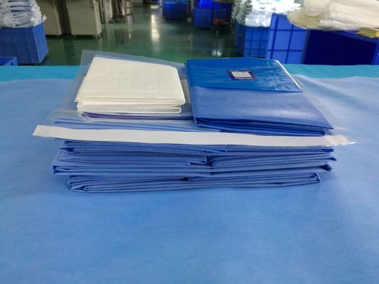 China Anti Static EO Gas Sterile SMMMS Mayo Stand Cover Surgical Universal Pack factory
