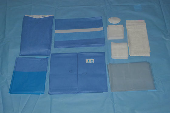 China SMMS Disposable Medical Eye EO Sterile Surgical Drapes Breathable distributor