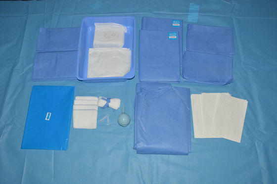 China Ethylene Oxide Sterile C Section Drape Surgical OB  Pack with ISO13485 distributor