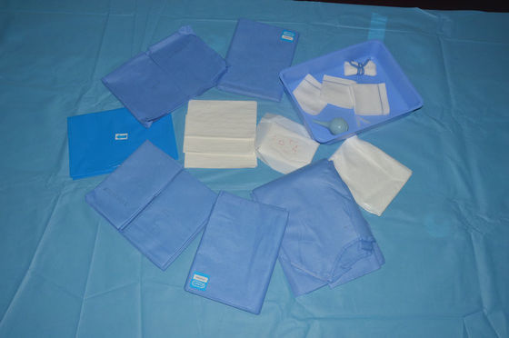 China Disposable Non Woven Hospital Medical Drape Kit with ISO13485 Approved factory