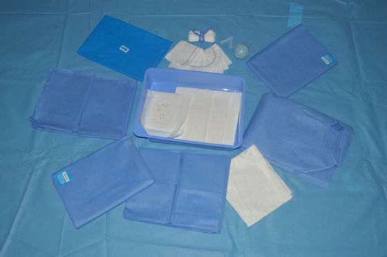 China Breathable Fabric Disposable Obstetric Custom Surgical Packs Non Woven factory
