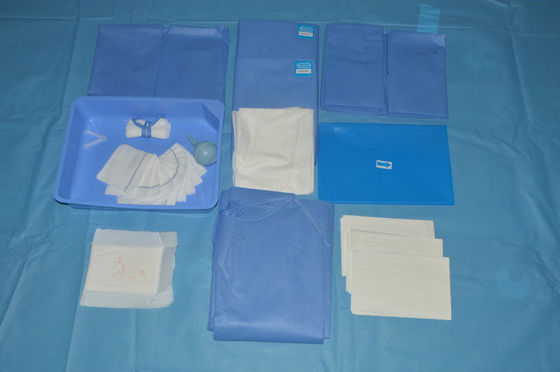 China Soft Sterile Delivery Fenestrated Surgical Drapes For Obstetrics Procedures Operation distributor