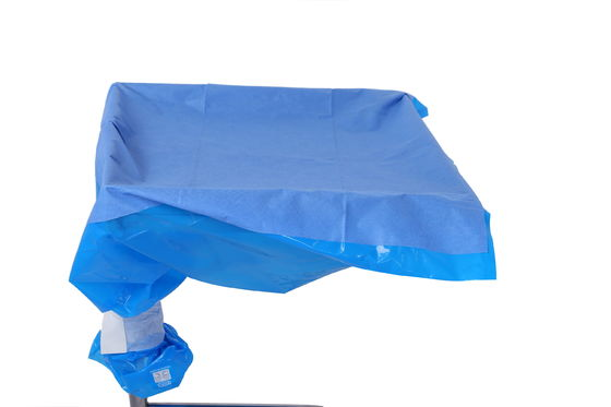 China Medical Sterile Blue SMS PE Mayo Stand Cover With CE ISO13485 Approve factory