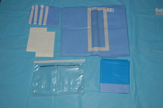 China Sterilize Medical Abdorminal Disposable Surgical Drapes with SMMS Material factory