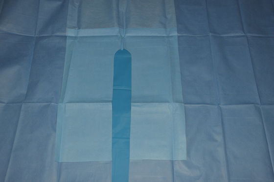 China CE / ISO EO Sterile SMMS U Drape for Hospital Operating Room Surgery distributor