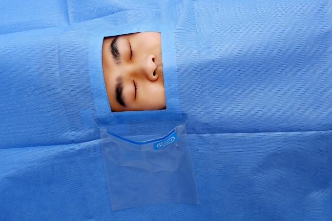 Sterile Non-woven SMMS Disposable Surgical Drape for Ophthalmic Surgery