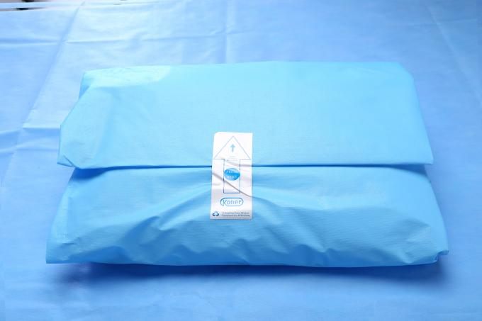 Waterproof Disposable Cloth Surgical Drapes , Medical Split Drape