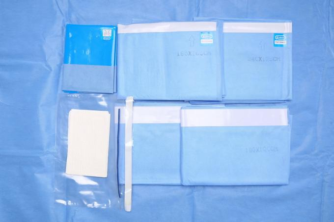 EO Gas Sterile Disposable SMMS Surgical EENT Pack Operating Room Drapes
