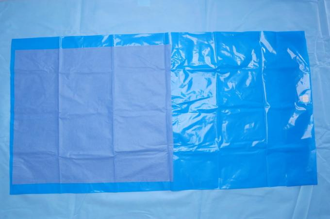 Against Blood Blue Non Woven Surgical Drape Medical For Clinic , Dentists