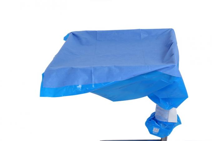 Hospital Clinic  Sterile Blue Mayo Stand Cover Drape , Sterile Drape Sheets
