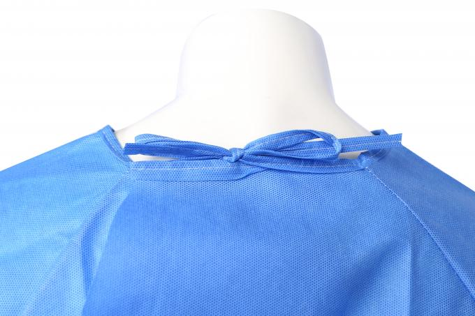 Operating Room Disposable Hospital Gowns , Disposable Hospital Scrubs