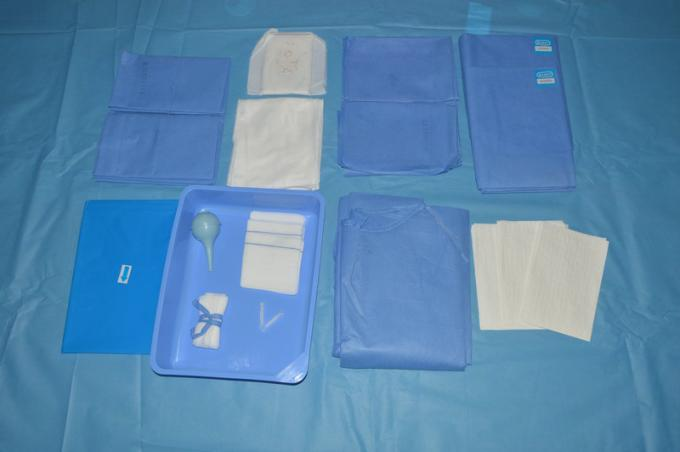 Ethylene Oxide Sterile C Section Drape Surgical OB  Pack with ISO13485
