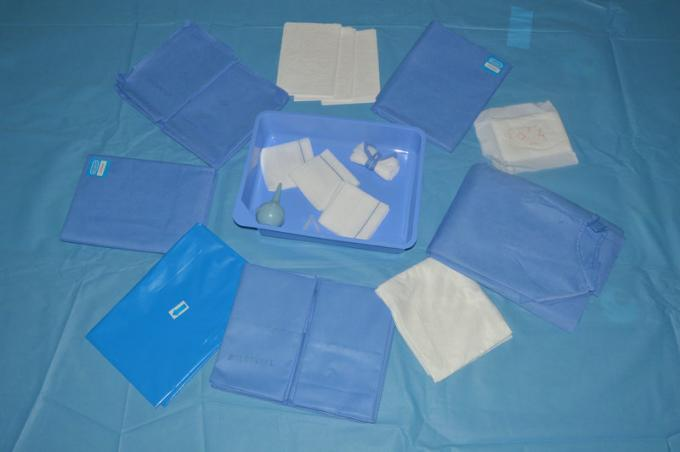 Disposable Non Woven Hospital Medical Drape Kit with ISO13485 Approved