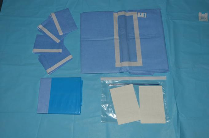Anti Static EO Sterile Laparotomy Pack for Hospital Abdorminal Surgery
