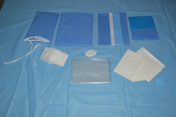 CE ISO Sterile Medical Disposable Surgical Drapes , Clinic Eye Drapes