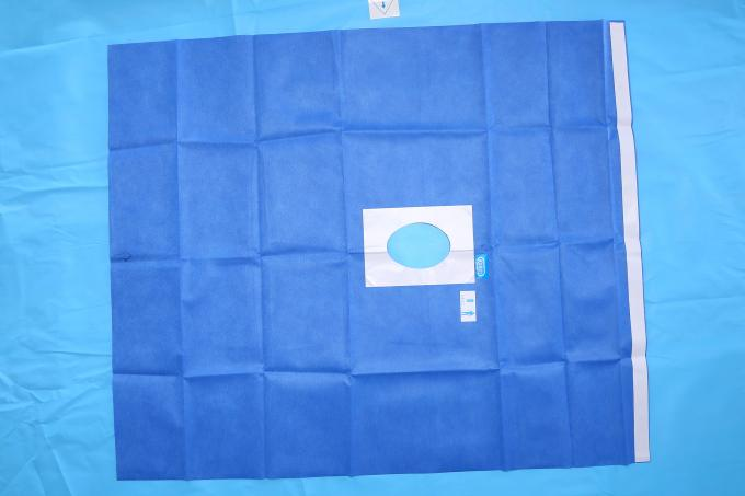 Medical EO Sterile Fenestrated Drape for Hospital Surgery Disinfection